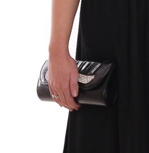 MontyQ Fashion - Image for Black Evening Clutch Purse Handbag