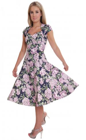 MontyQ Fashion - Image for Elegant Vintage Style Summer Dress Ascot