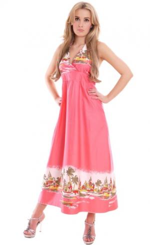 MontyQ Fashion - Image for Stunning Summer Dress Pink Empire