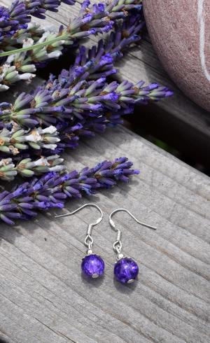 MontyQ Fashion - Image for Earring Lavender ER4