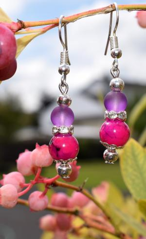 MontyQ Fashion - Image for Earring Pink ER2