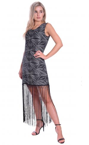MontyQ Fashion - Image for Long Fringe Show Choir Dress