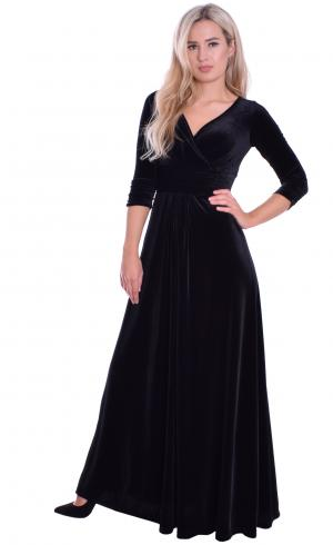 MontyQ Fashion - Image for Evening Empire Dress Black Velvet