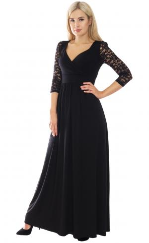 MontyQ Fashion - Image for Black Jersey Lace Sleeve