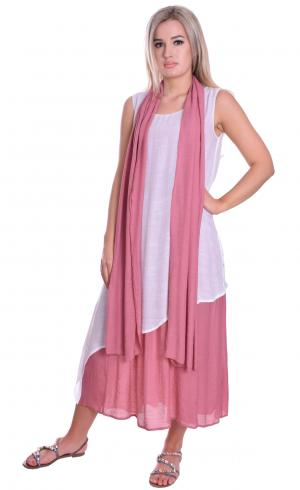 MontyQ Fashion - Image for Light Summer Maxi Dress With Scarf