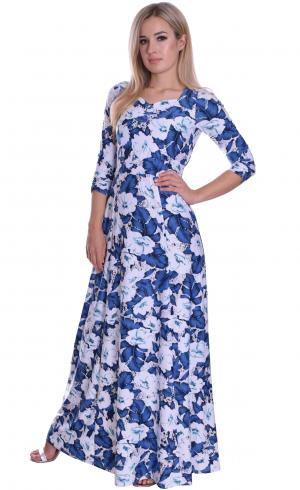 MontyQ Fashion - Image for Elegant Long Floral Maxi Dress