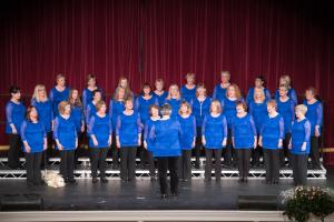 Image for Manx Voices showing off at Isle of Man Festival of Choirs