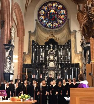 Image for The mesmerizing voices of Storkyrkans ungdomskör