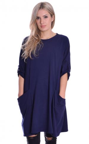 MontyQ Fashion - Image for Tunica Dress Navy