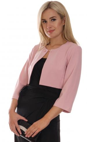 MontyQ Fashion - Image for Cropped Bolero Nude Pink
