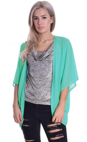MontyQ Fashion - Image for Cape Cardigan Turquoise