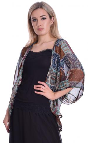 MontyQ Fashion - Image for Cape Cardigan Print