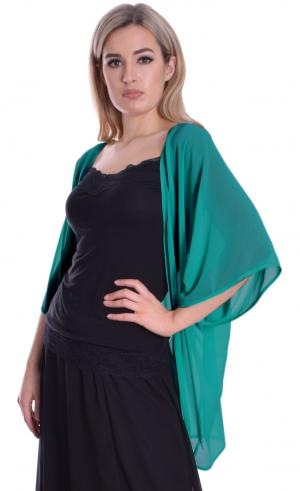 MontyQ Fashion - Image for Cape Cardi Teal Green