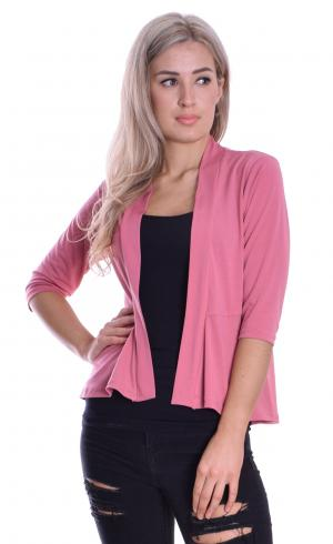 MontyQ Fashion - Image for Peplum Cardi Raspberry