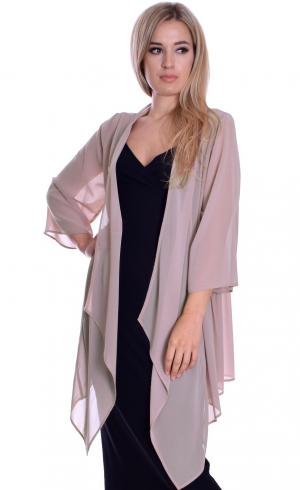 MontyQ Fashion - Image for Waterfall Cardigan Nude