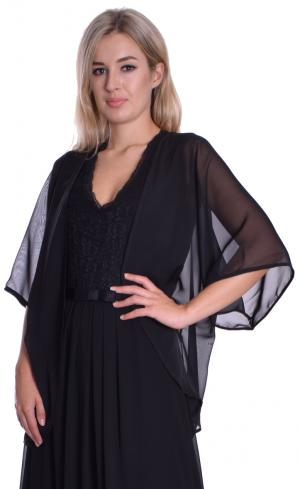 MontyQ Fashion - Image for Cape Cardigan Black