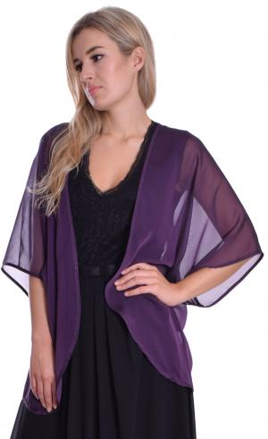 MontyQ Fashion - Image for Cardigan Blouse Plum