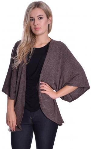 MontyQ Fashion - Image for Knitted Cape Cardigan