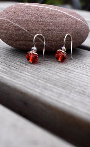 MontyQ Fashion - Image for Earring Red ER9
