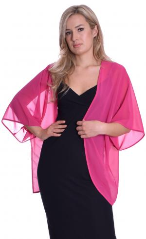 MontyQ Fashion - Image for Cape Cardigan Fuchsia
