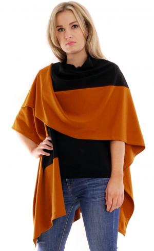 MontyQ Fashion - Image for Colourful Poncho Cape Shawl