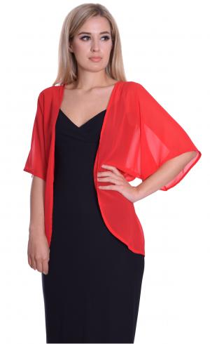 MontyQ Fashion - Image for Cape Cardigan Red