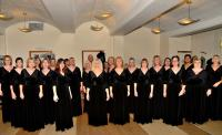Image for Black Sheep Harmony Ladies Acappella Chorus glaming it up in 'MontyQ'