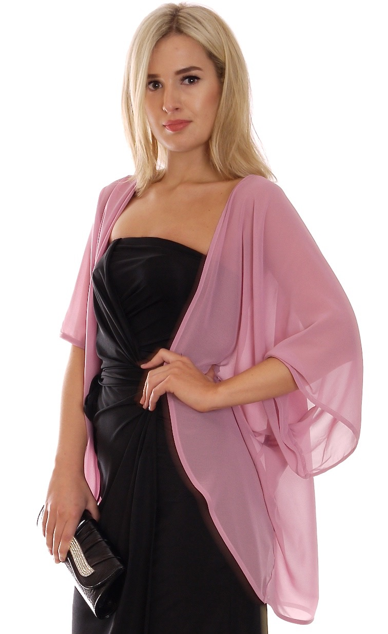 Image for Cape Cardigan Pink