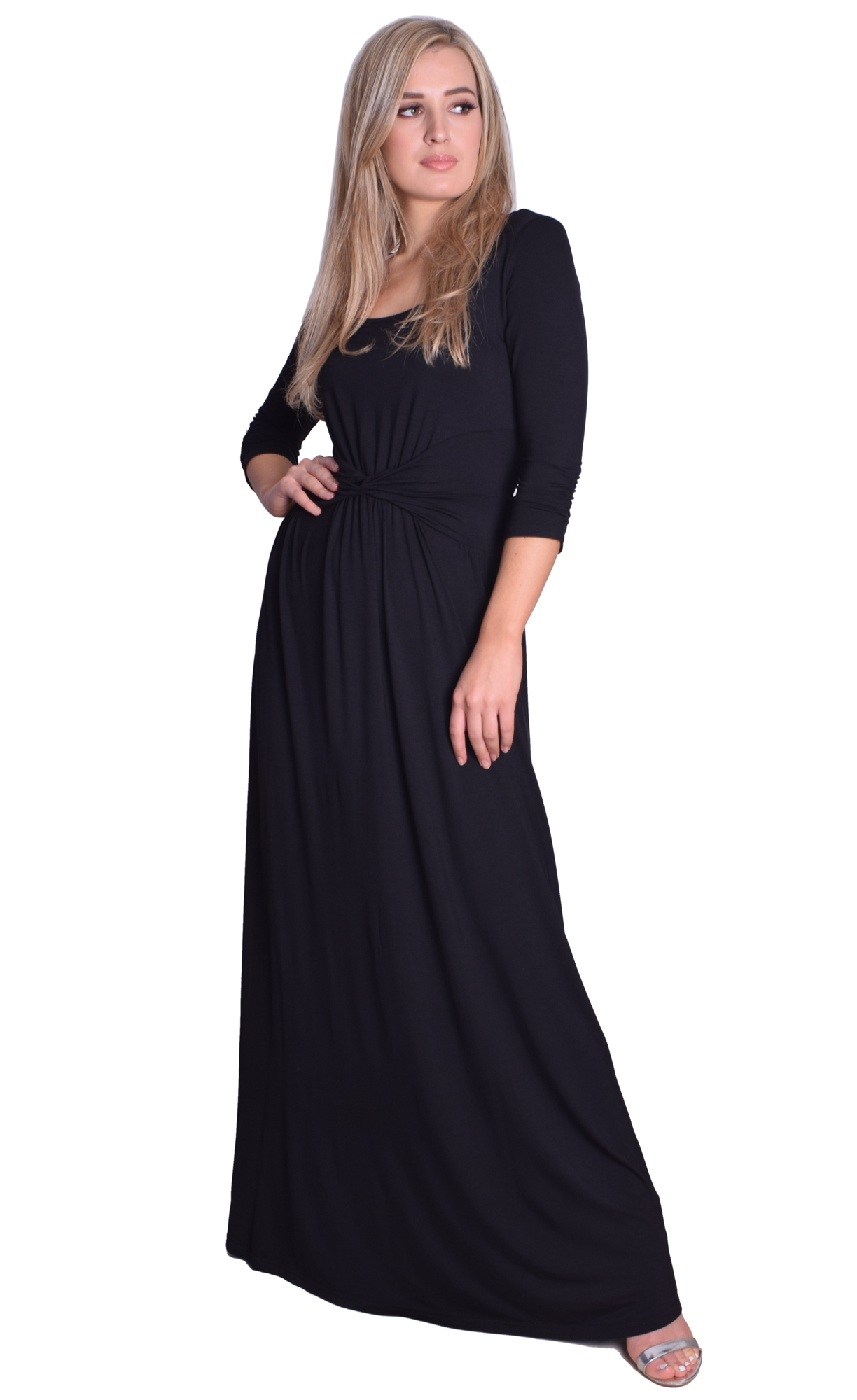 Image for Black Jersey Maxi Dress