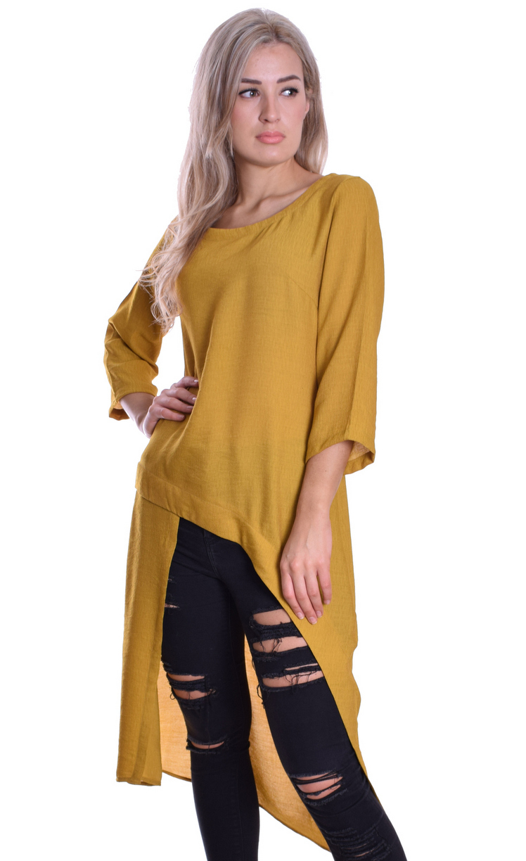 Image for Maxi Tunic Mustard