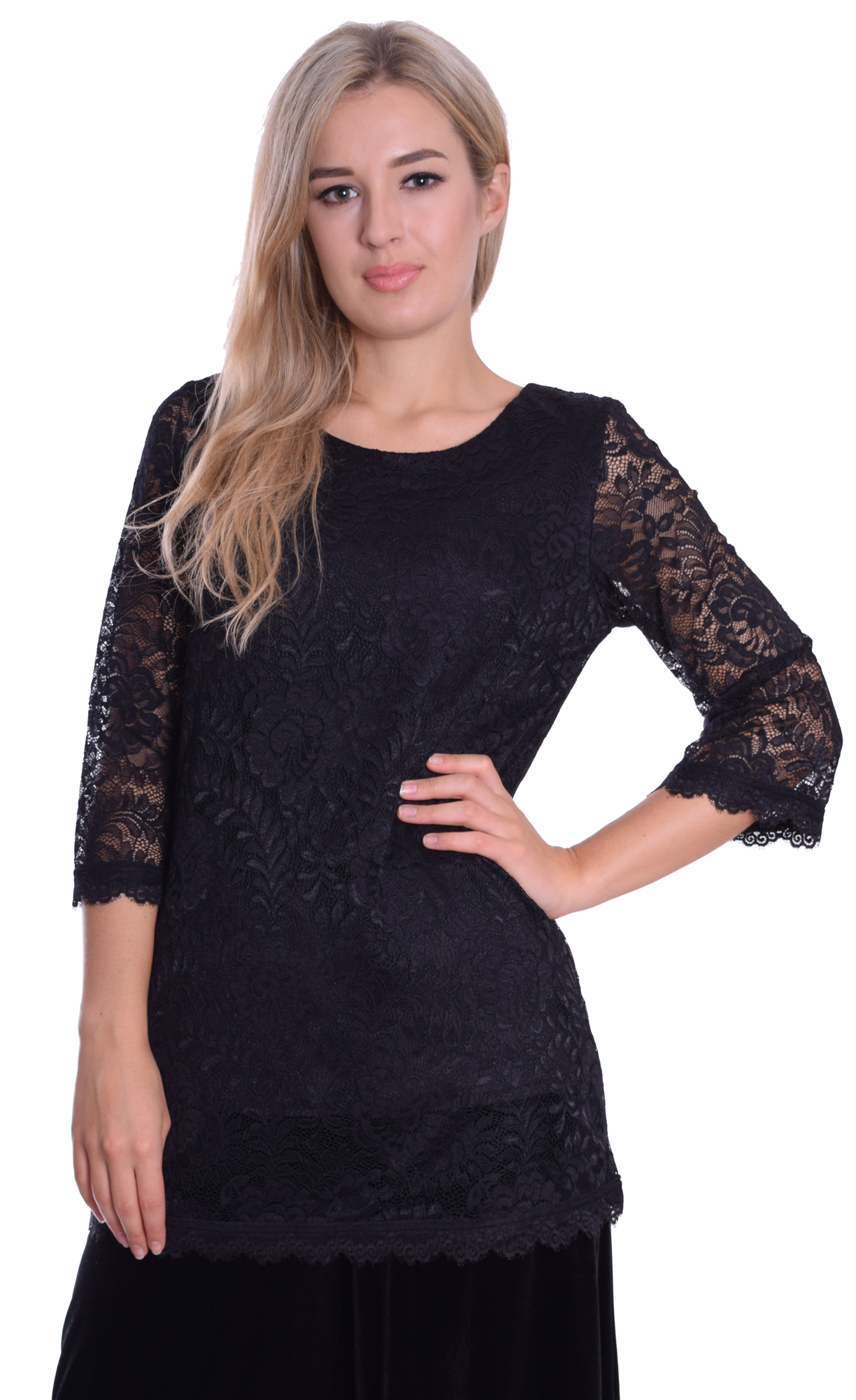 Image for Black Lace Top