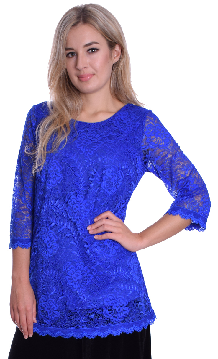 Image for Blue Lace Top